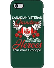 Canadian Veteran Grandson-Hero Phone Case thumbnail