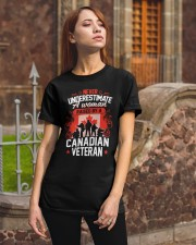 A Woman Raised By A Canadian Veteran Classic T-Shirt apparel-classic-tshirt-lifestyle-06