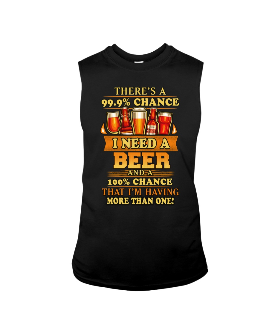 I Need A Beer 2 Sleeveless Tee