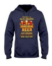 I Need A Beer 2 Hooded Sweatshirt thumbnail