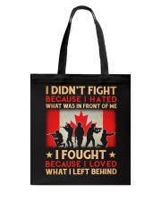 Didn't Fight Tote Bag thumbnail