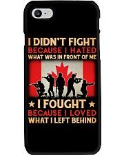 Didn't Fight Phone Case thumbnail
