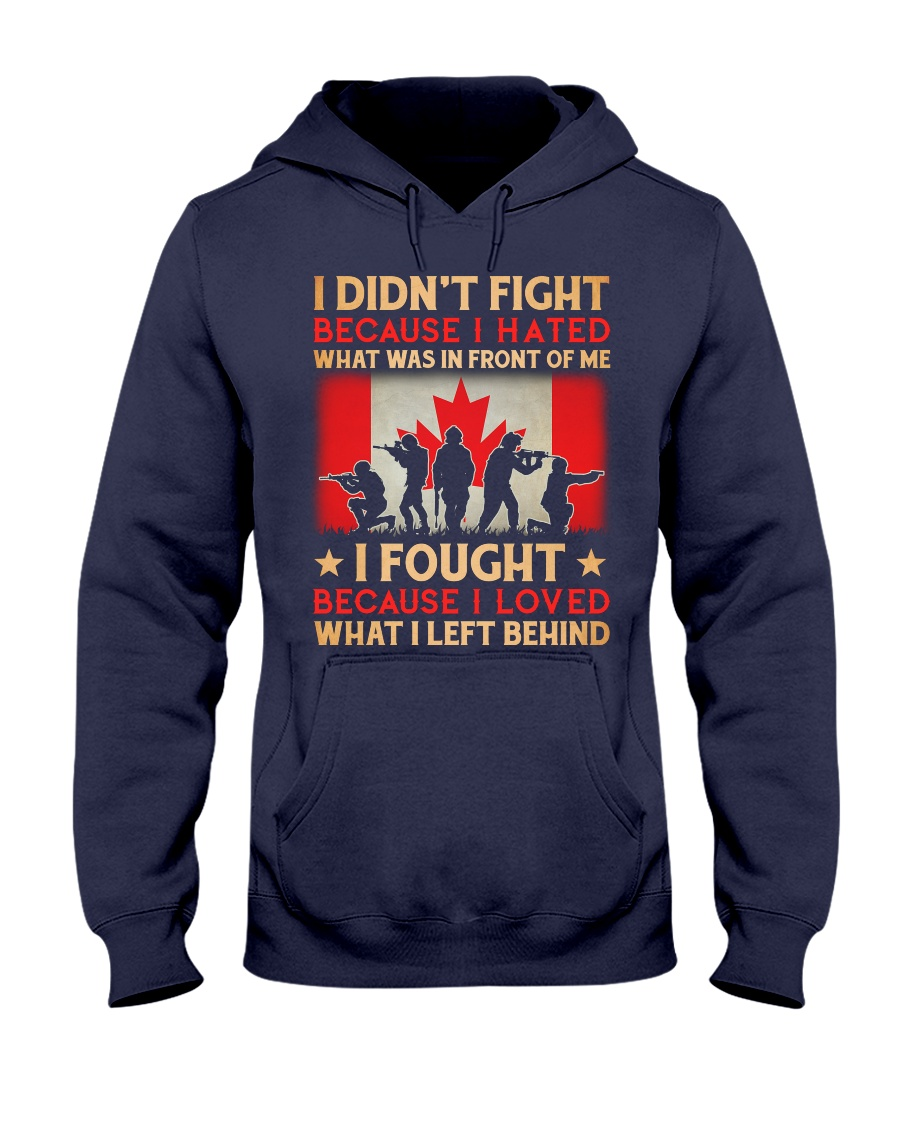 Didn't Fight Hooded Sweatshirt