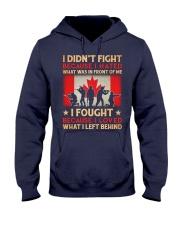 Didn't Fight Hooded Sweatshirt front