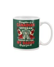 Canadian Vet Daughter-Freedom Mug thumbnail
