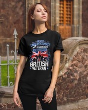 A Woman Raised By A British Veteran Classic T-Shirt apparel-classic-tshirt-lifestyle-06