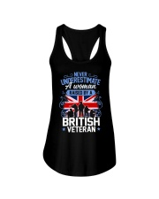 A Woman Raised By A British Veteran Ladies Flowy Tank thumbnail