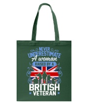 A Woman Raised By A British Veteran Tote Bag thumbnail