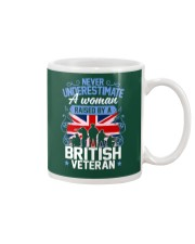 A Woman Raised By A British Veteran Mug thumbnail