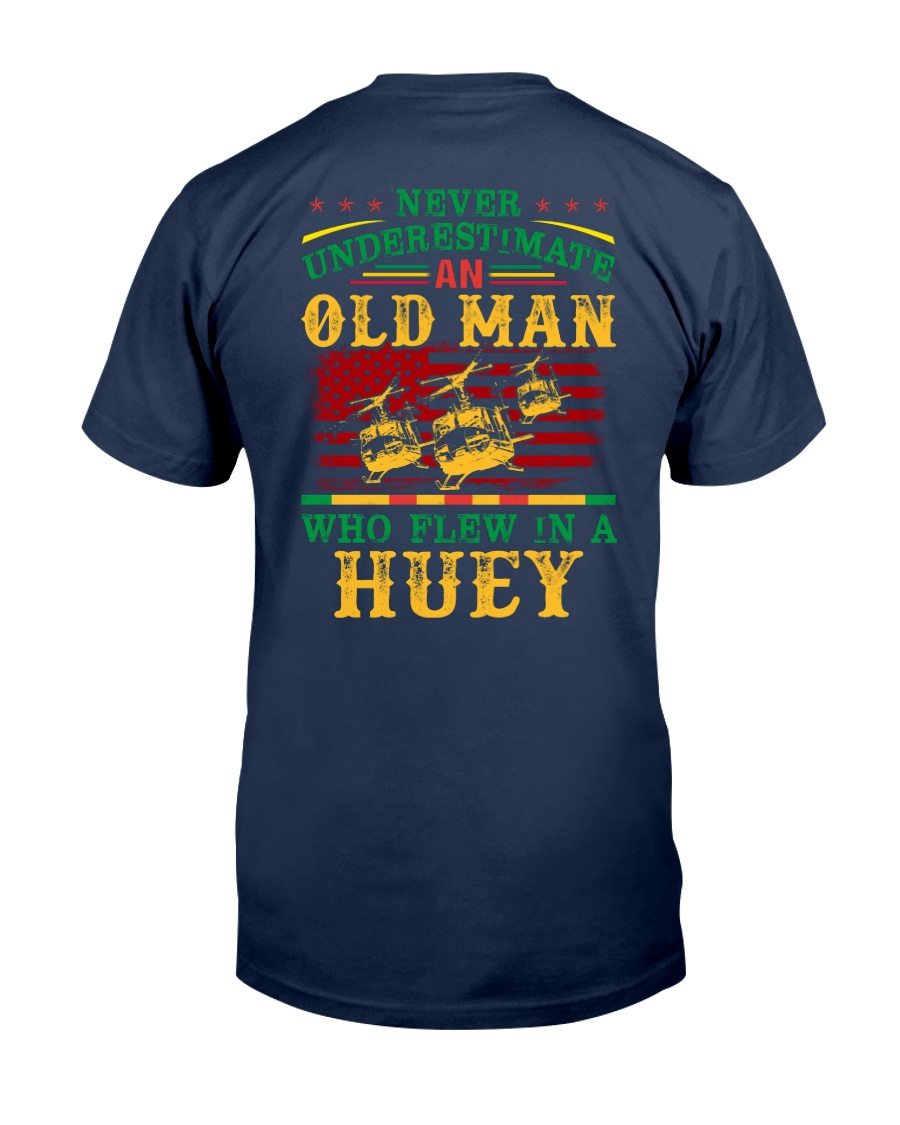 Flew In A Huey Classic T-Shirt