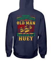 Flew In A Huey Hooded Sweatshirt thumbnail