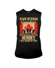WWII Veteran Grandson Sleeveless Tee thumbnail