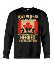 WWII Veteran Grandson Crewneck Sweatshirt thumbnail