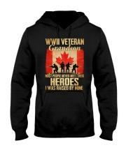 WWII Veteran Grandson Hooded Sweatshirt thumbnail