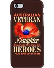 I Was Raised-Australian Veteran Phone Case thumbnail
