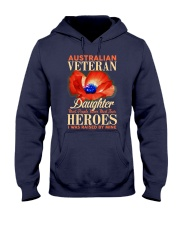 I Was Raised-Australian Veteran Hooded Sweatshirt thumbnail