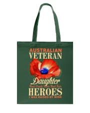 I Was Raised-Australian Veteran Tote Bag thumbnail