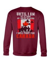 Fight For Canada Crewneck Sweatshirt thumbnail
