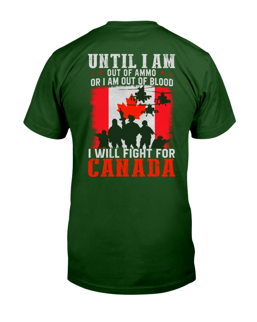 Fight For Canada Classic T-Shirt