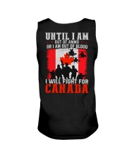 Fight For Canada Unisex Tank thumbnail