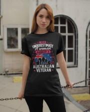 A Woman Raised By A Australian Veteran Classic T-Shirt apparel-classic-tshirt-lifestyle-19