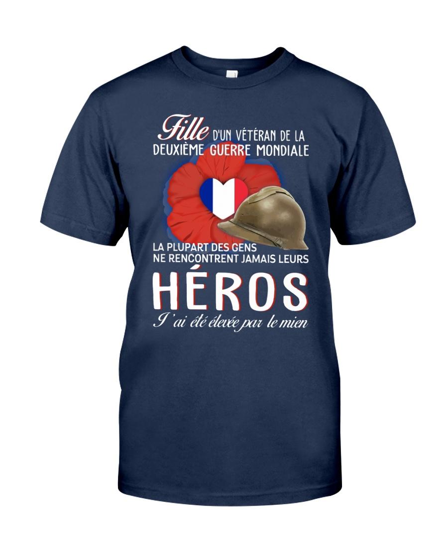 Heros Fille Dun Veteran Classic T-Shirt