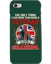 British Veteran Grandpa-The Only Thing Phone Case thumbnail
