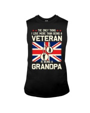 Being A Grandpa British Sleeveless Tee thumbnail