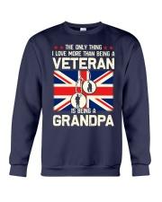 Being A Grandpa British Crewneck Sweatshirt thumbnail