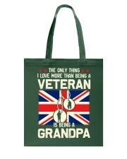 Being A Grandpa British Tote Bag thumbnail