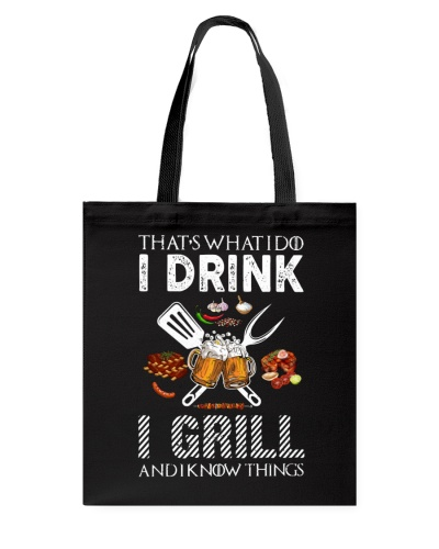 Drink Grill n' Know Things