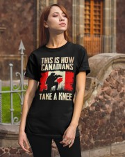 Canadians Take A Knee Classic T-Shirt apparel-classic-tshirt-lifestyle-06