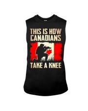Canadians Take A Knee Sleeveless Tee thumbnail