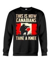 Canadians Take A Knee Crewneck Sweatshirt thumbnail