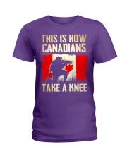 Canadians Take A Knee Ladies T-Shirt thumbnail