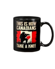 Canadians Take A Knee Mug thumbnail