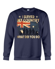 Served My Country Crewneck Sweatshirt thumbnail