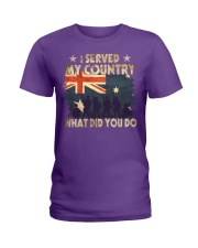 Served My Country Ladies T-Shirt thumbnail