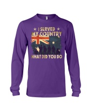 Served My Country Long Sleeve Tee thumbnail