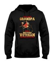 British Grandpa Hooded Sweatshirt front