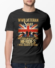 WWII Veteran Son Classic T-Shirt lifestyle-mens-crewneck-front-13