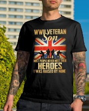 WWII Veteran Son Classic T-Shirt lifestyle-mens-crewneck-front-8