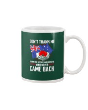 AU Veteran-Don't Thank  Mug thumbnail
