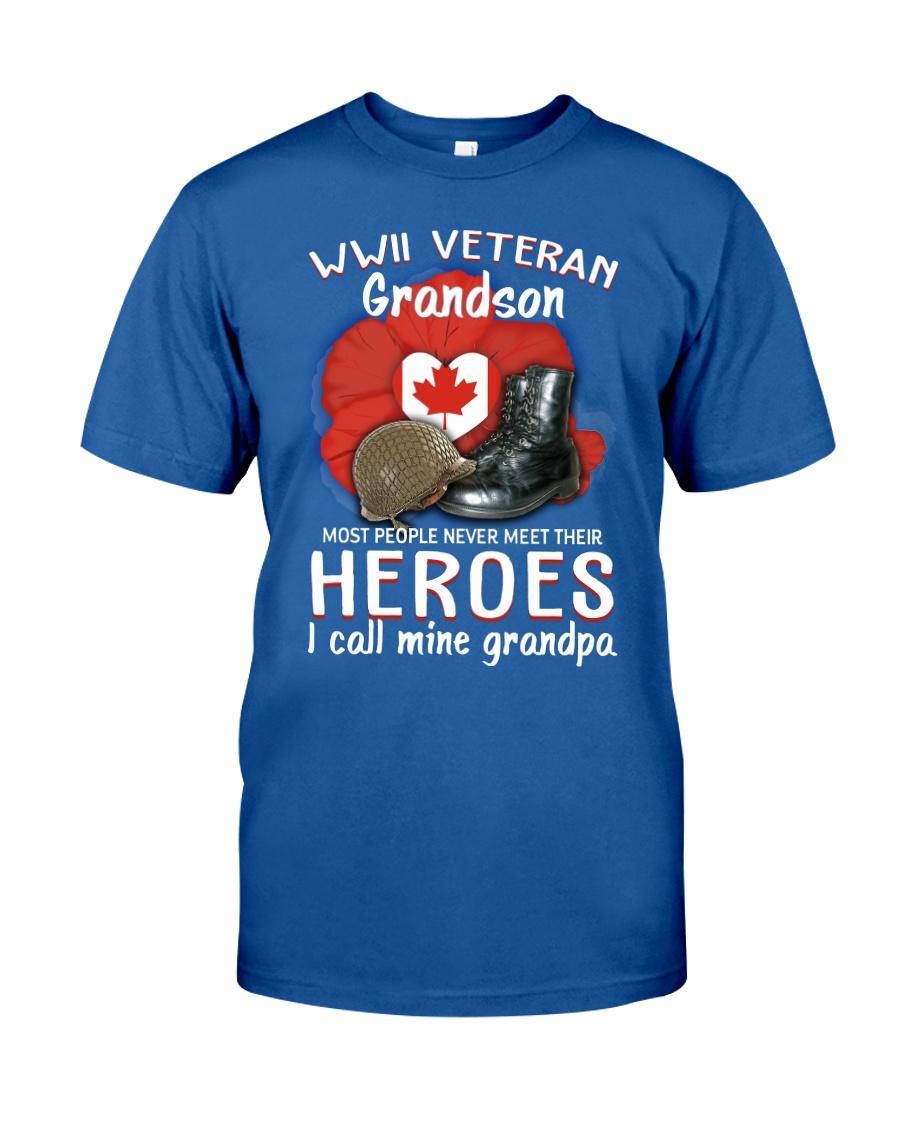 CA Hero WWII Veteran's Grandson Classic T-Shirt