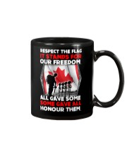 Respect The Flag Mug thumbnail