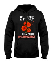 Remember Hooded Sweatshirt front