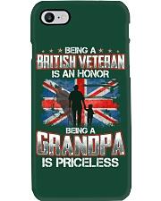 British Veteran Grandpa-Priceless Phone Case thumbnail