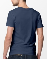 British Veteran Grandpa-Priceless Classic T-Shirt lifestyle-mens-crewneck-back-5