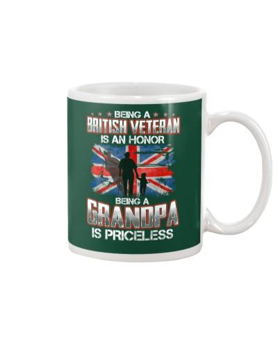 British Veteran Grandpa-Priceless