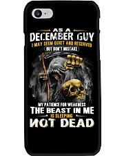 THE BEAST IN ME - DECEMBER GUY Phone Case thumbnail